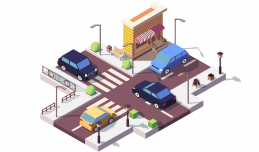Cars On Street Preview
